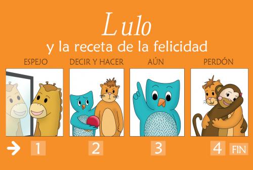 Imagen poster Lulo y la receta de la felicidad